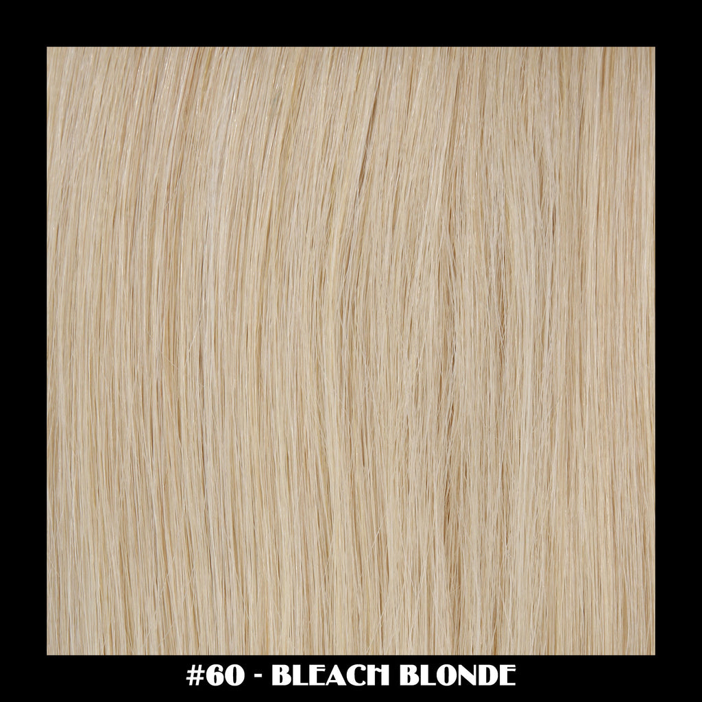 "26"" Deluxe Remi Weave Hair Extensions 140g in #60 - Bleach Blonde"