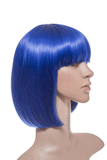 Breeze Party Bob Full Head Synthetic Wig in #DF6 Atlantic Blue - Dolled Up Hair Extensions - 1