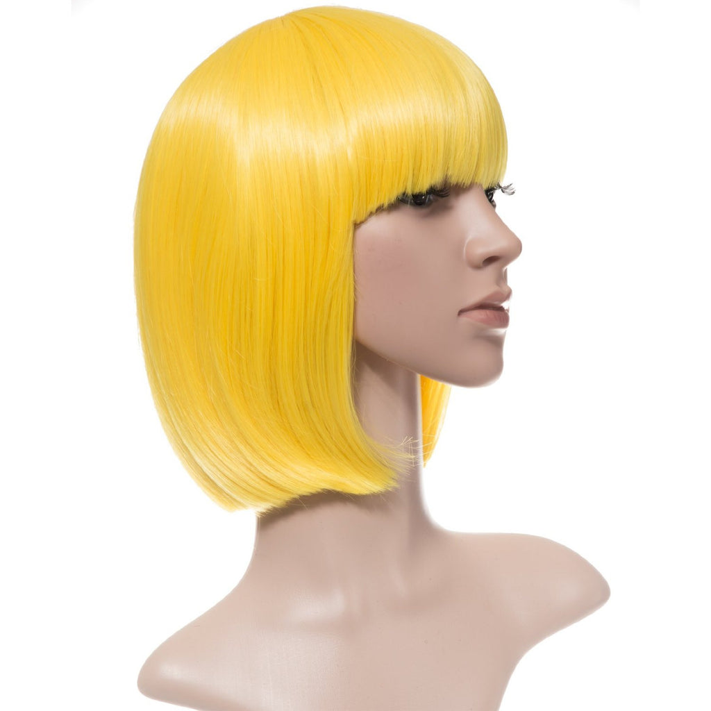 Breeze Party Bob Full Head Synthetic Wig in #DF3 Daffodil