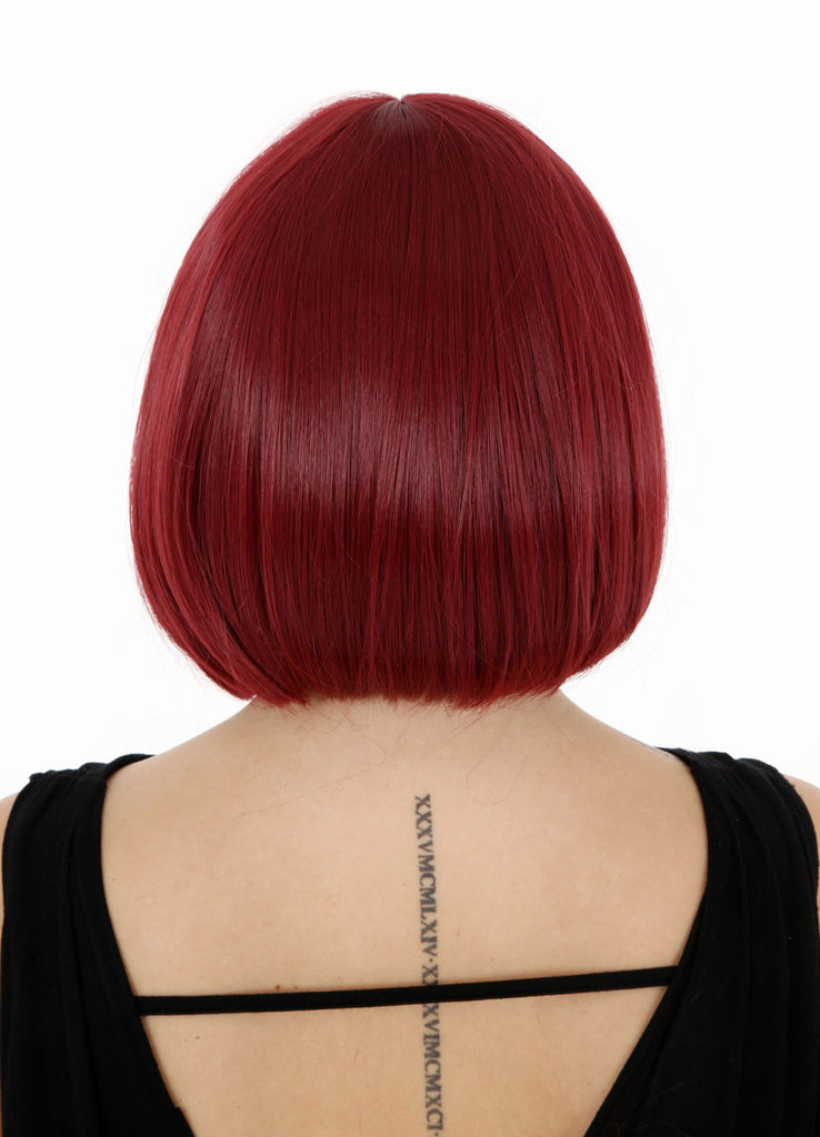 Breeze Classic Bob Full Head Synthetic Wig in #118 Burgundy