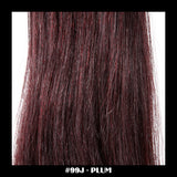 "26"" Deluxe Remi Weave Hair Extensions 140g in #99J - Plum - Dolled Up Hair Extensions - 1"