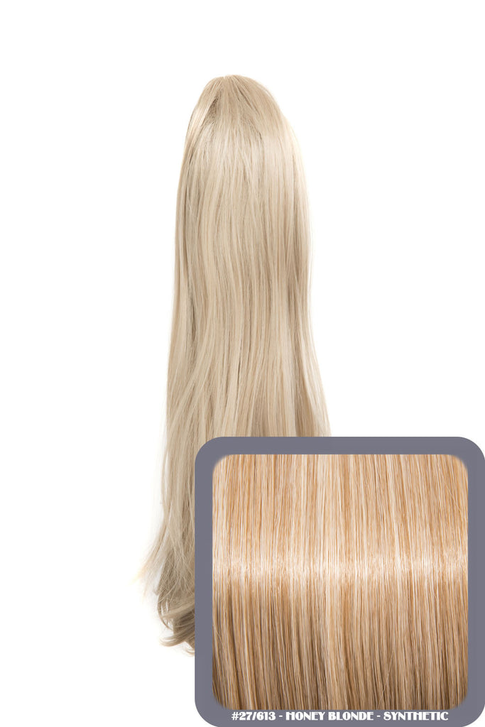 Tulip Long Straight Synthetic Ponytail in #27/613 Honey Blonde