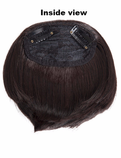 Clip-In Full Fringe In Chestnut Brown #8