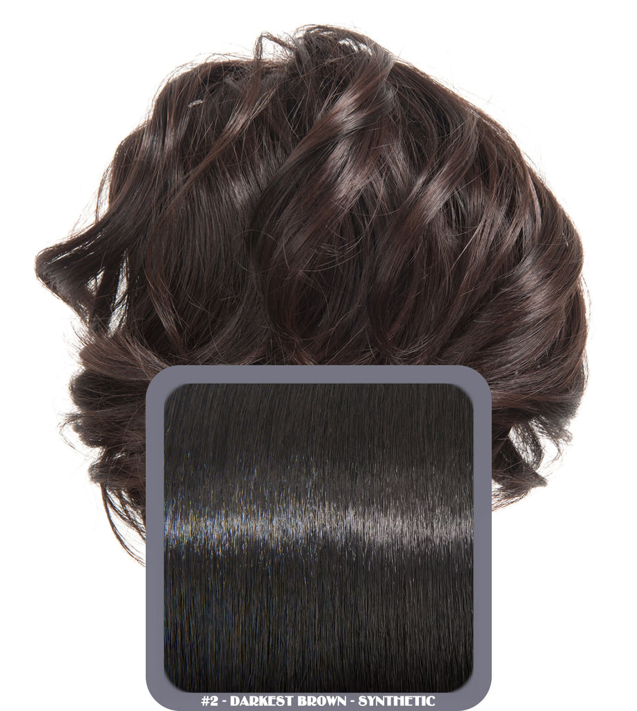 Short Drawstring Synthetic Ponytail in #2 Darkest Brown