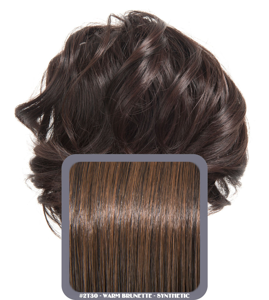 Short Drawstring Synthetic Ponytail in #2/30 Warm Brunette