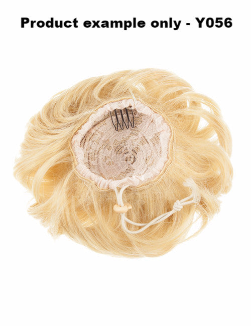 Big Drawstring Messy Bun in Pure Blonde #613