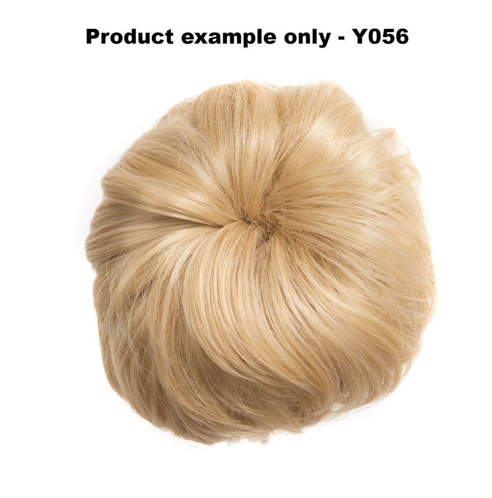 Big Drawstring Messy Bun in Chestnut Brown #8