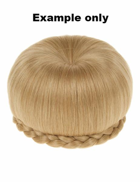 Ballerina Clip-In Hair Bun in Darkest Brown #2
