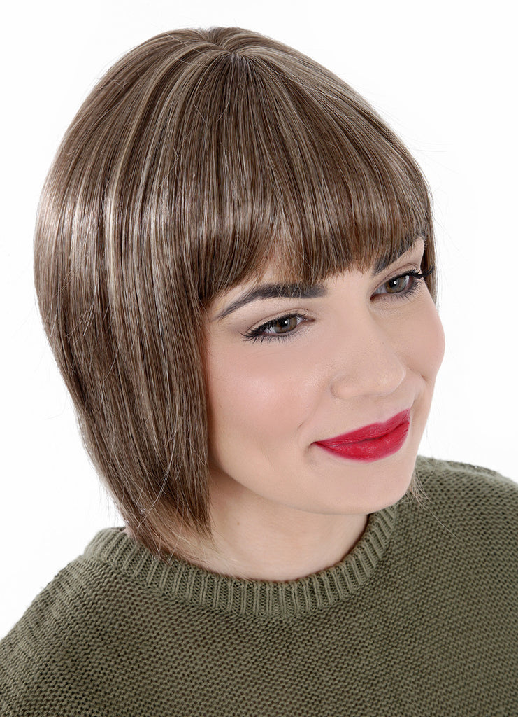Harmony Short Graduated Bob Full Wig in Honey Blonde #27/613