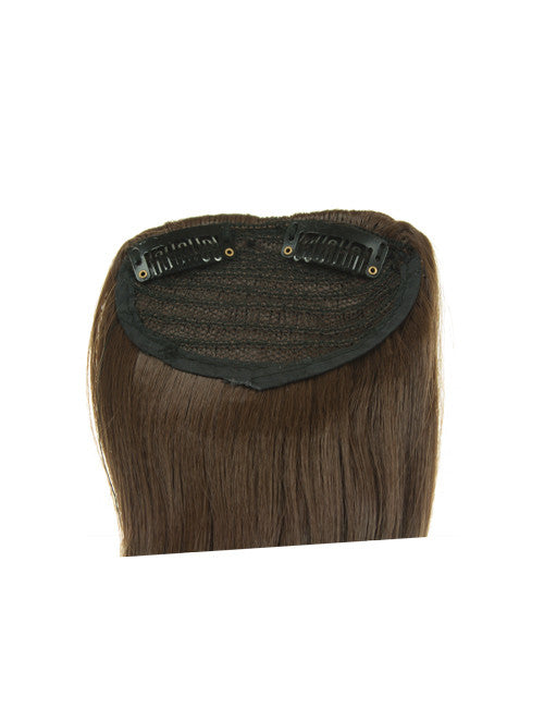 Clip-In Side Fringe In Dark Brown & Caramel #4/27