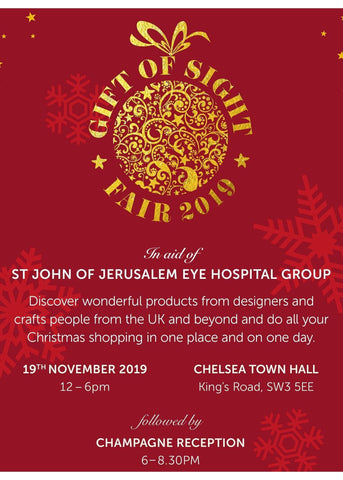 Gift of Sight Fair Christmas 2019