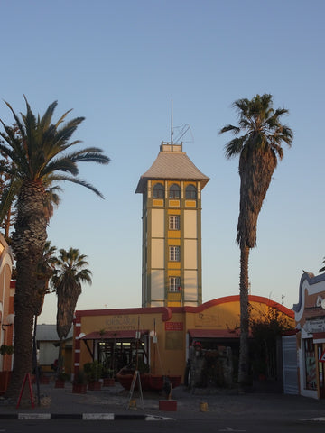 German architecture at Swakopmund