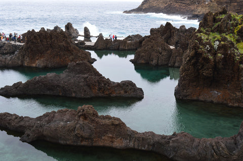 Lava pools at Porto Moniz, Madeira
