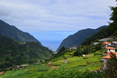 View over Sao Vicente, Madeira