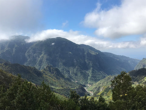 Encumeda Mountain Peak, Madeira