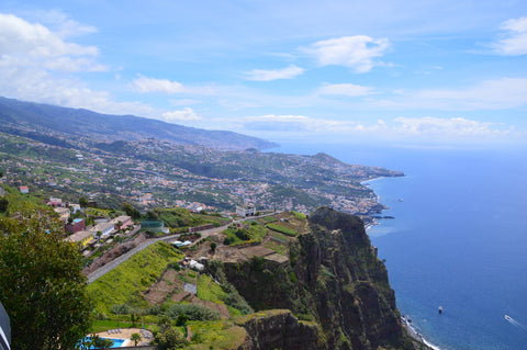 View of Funchal from Cabo Girao, Madeira