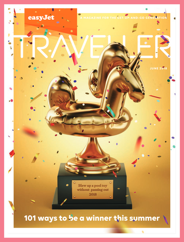 EasyJet Traveller Magazine cover June 2018