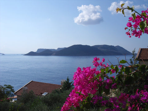 View of Greek Island of Meis (Kastellorizo)