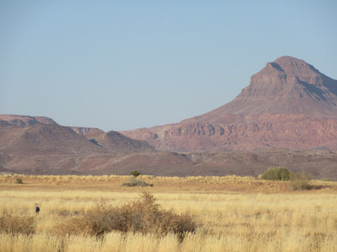 Scenery in Damaraland