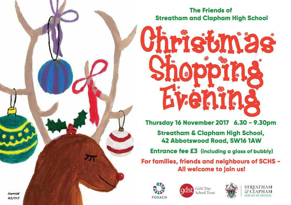 Streatham and Clapham Christmas Shopping Evening