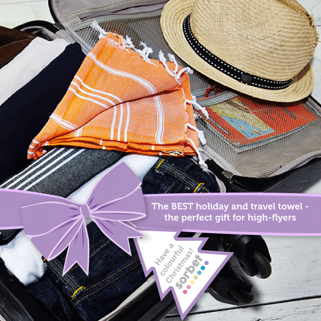 Sorbet Towels Gift Guide Traveller