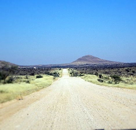 Arriving in Namibia