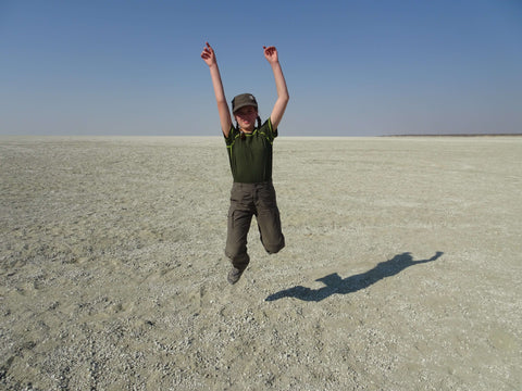 The magical Etosha salt pan