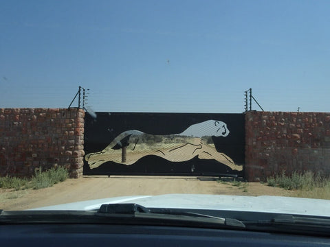 Entrance to Okonjima and AfriCat