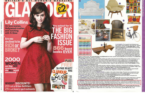 sorbet hammam towels as featured in glamour magazine
