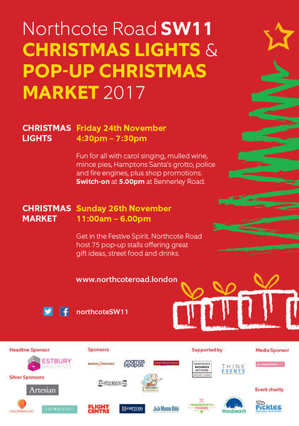 Northcote Road Christmas Market 2017