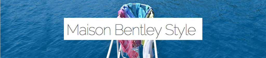 sorbet hammam towels in maison bentley style