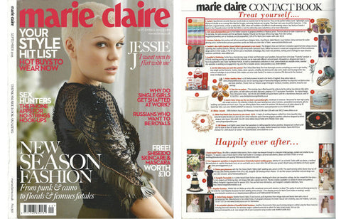 sorbet hammam towels as featured in marie claire magazine