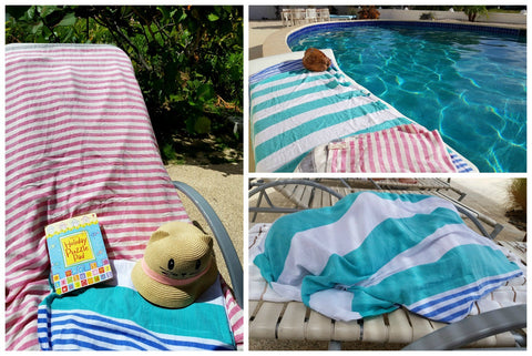 Mummy Travels reviews Sorbet towels