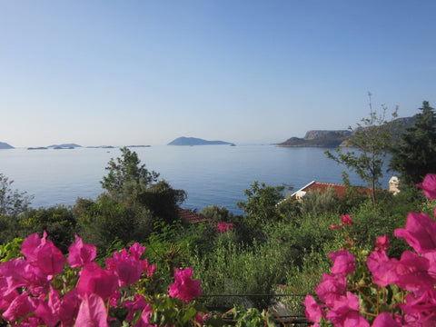 View of the Turkish Turquoise Coast