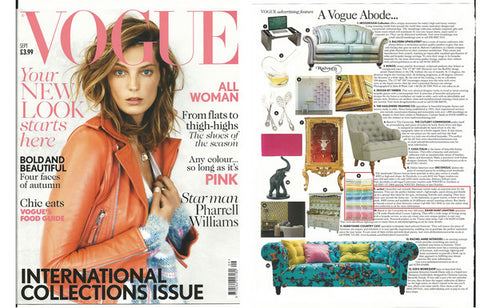 sorbet hammam towels as featured in vogue magazine