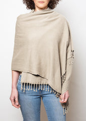 lady wearing stone hammam wrap