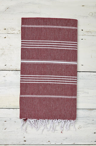 Blackcurrant Hammam Towel