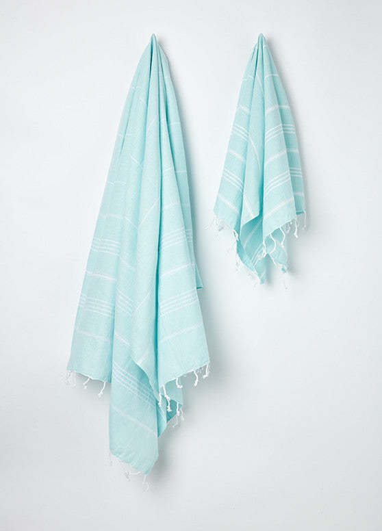 small hammam tea towel with tassels