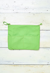 Fizzy Lime Sorbet Clutch