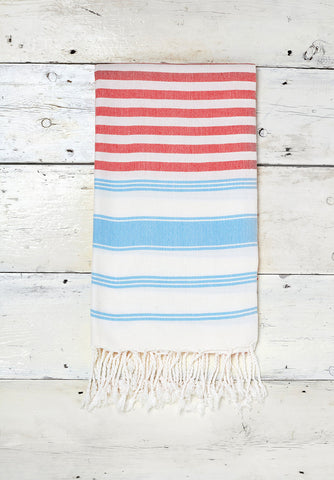 Stripy Sorbet Red