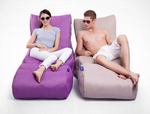 Vibrant and Classy outdoor bean bags by Ambient Lounge