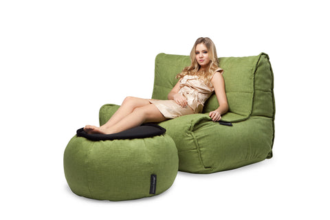 Lime Green Double size bean bag