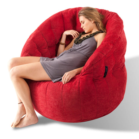Ambient Lounge Wildberry Butterfly Sofa Bean Bag.