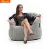 Butterfly Sofa - Maldives Grey (Sunbrella)