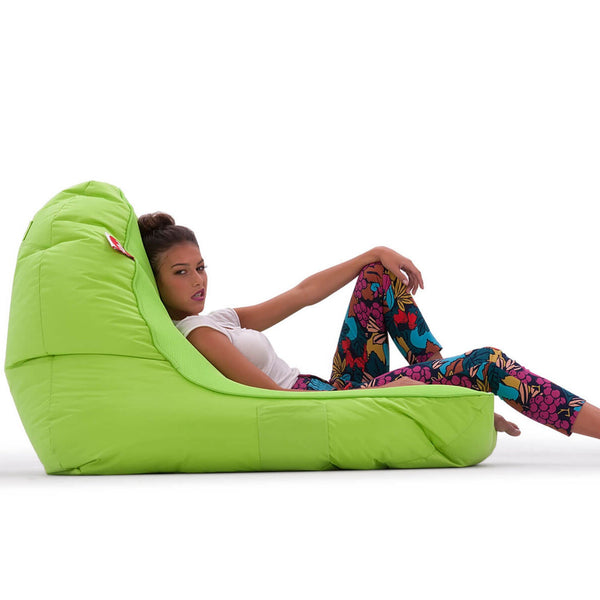 VIP Sofa +Ottoman - Coolio Wild Lime Set