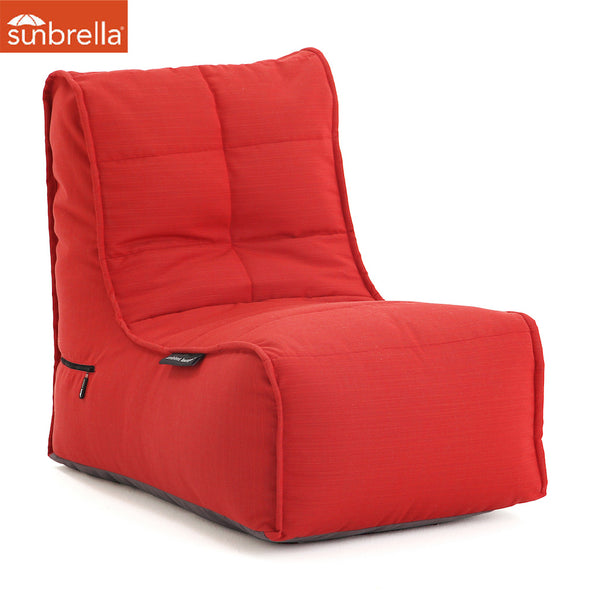 Evolution Sofa - Crimson Vibe (Sunbrella)