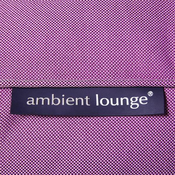 purple studio lounger bean bag by Ambient Lounge
