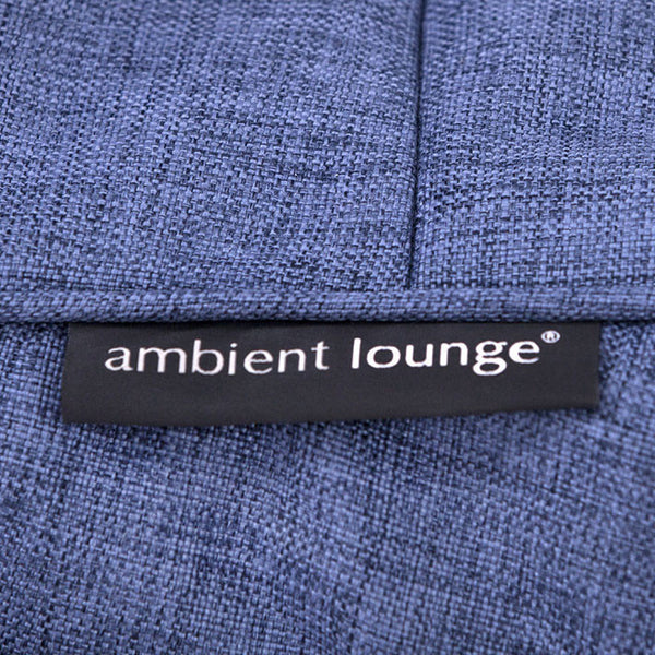 blue acoustic bean bag by Ambient Lounge