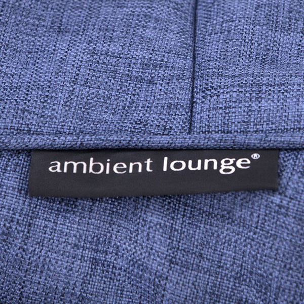 black designer sofa set bean bag by Ambient Lounge