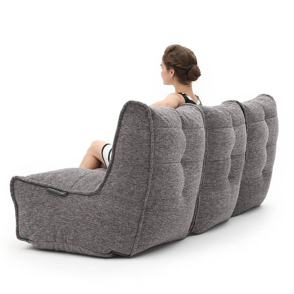 Mod 3 Movie Couch - Luscious Grey